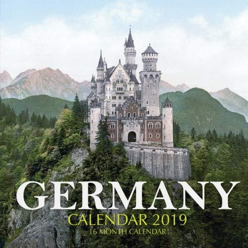 Germany Calendar 2019: 16 Month Calendar