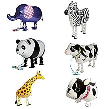 Amazon.com: Globo, SODIAL (R) 6 x Walking Animal Globos ...