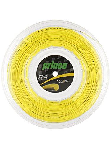 PRINCE 7J938-280R Tour XC 15L Tennis String Reel Yellow
