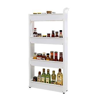 Amazonクランプラックキッチンバスルーム隙間冷蔵庫サイド狭いバス