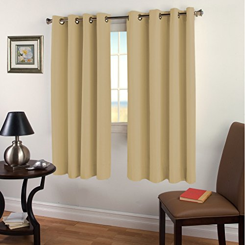 Blackout Darkening Curtains Semolina TURQUOIZE product image