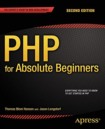 PHP for Absolute Beginners ISBN-13 9781430268154