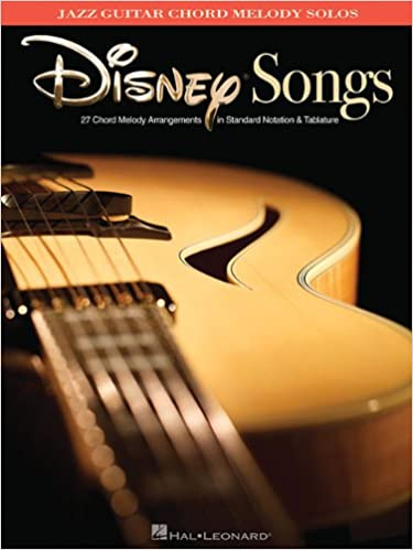 Amazon.com: Disney Songs - Jazz Guitar Chord Melody Solos ...