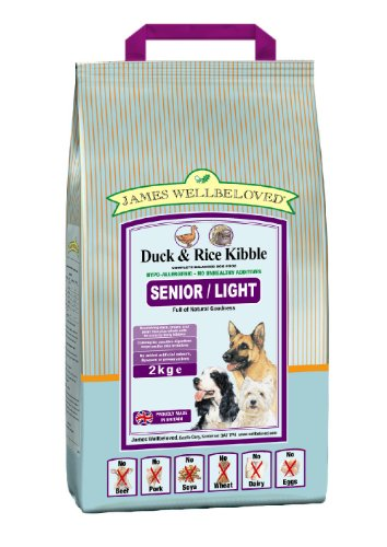 James Wellbeloved James Wellbeloved Senior Duck And Rice Kibble 2kg
