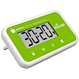 The Miracle Hover Kitchen Timer - Touchless Digital Countdown Timer, Green, Hands-Free Control