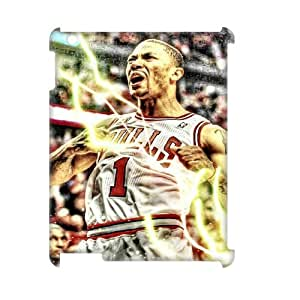 Custom Hard Protective Cover Case for Ipad2,3,4 3D Phone Case - Derrick Rose HX-MI-112516