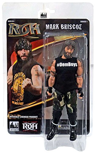 Ring of Honor Wrestling Action Figures Series 1  Mark Briscoe by Figures Toy Company
