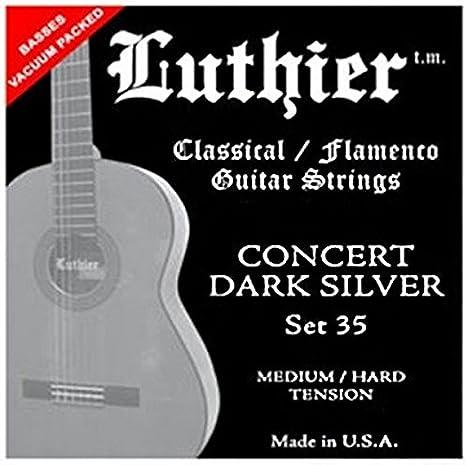 Juego de Cuerdas Luthier Tensión 35: Amazon.es: Instrumentos musicales