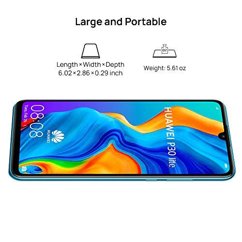 Huawei P30 Lite Smartphone 128GB 4GB RAM - Peacock Blue