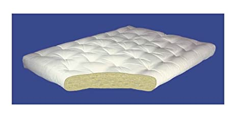 4 inch all cotton futon mattress  4 in    full  54 w x amazon    4 inch all cotton futon mattress  4 in    full  54 w x      rh   amazon