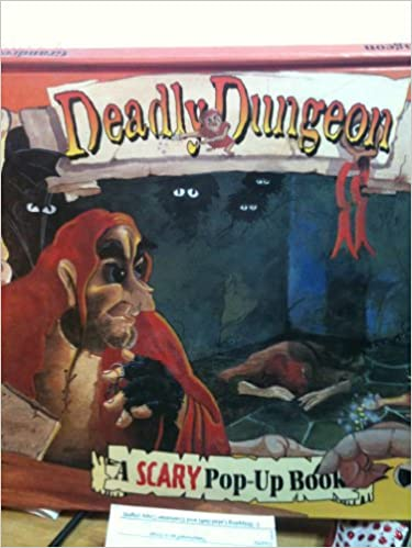 scary pop up books fiendish friends deadly dungeon spooky spells