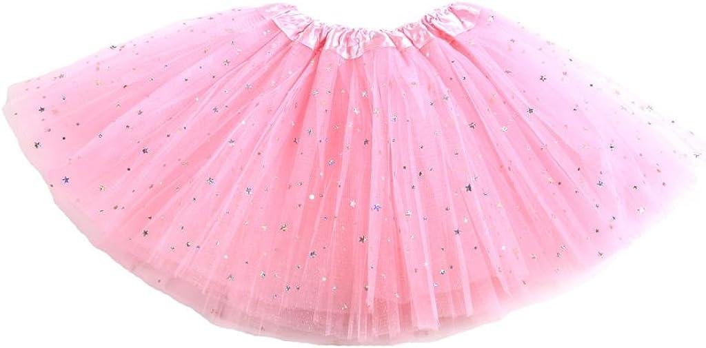 Falda de Tul Stella para niñas - Falda de Ballet con Estrellas ...