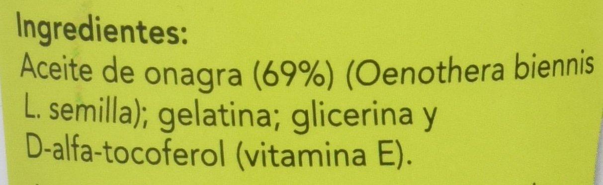 Eladiet Onagra, Aceite de Oenothera - 200 Perlas: Amazon.es: Salud y cuidado personal