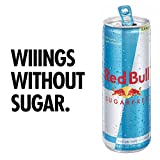 Red Bull Energy Drink Sugar Free, Sugarfree, 8.4 Fl Oz