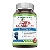 Best Acetyl L-carnitine Pures - Pure Naturals Acetyl L-Carnitine 1,000Mg 120 Tablets: Enhances Review