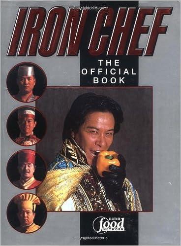 amazon iron chef the official book fuji television kaoru