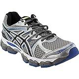ASICS Men's Gel-Evate 2 Running Shoe,Titanium/Black/Blue,8.5 M US Review