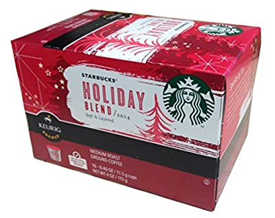 Starbucks 2016 Holiday Blend K-cups Coffee 2 boxes of 10