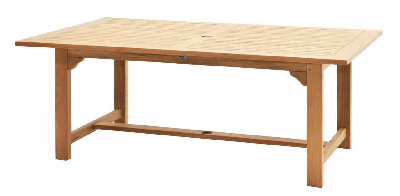 Ploß Teakholz Tisch Pasadena Premium Gartentisch Mit Fsc