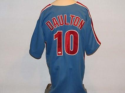 buy online e38c9 318da Darren Daulton Autographed Signed Phillies Jersey at ...