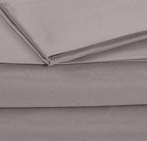 AmazonBasics Microfiber Sheet Set - Twin Extra-Long, Dark Grey by AmazonBasics (Image #5)