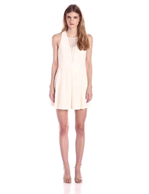 Pbleaccess Women's Stretch Dress White