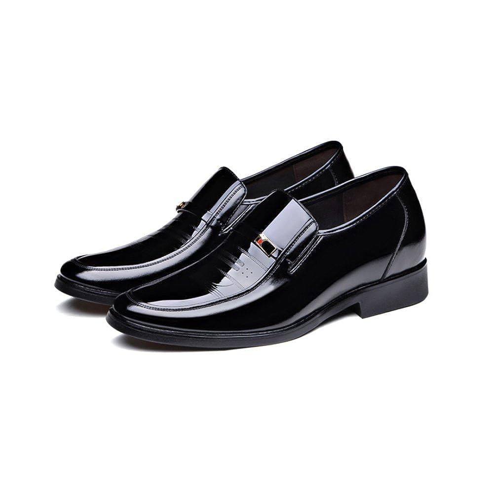 LYZGF Männer Jugend Fashion Business Casual Fashion Jugend Erhöht 6cm Hochzeit Gentleman Lederschuhe ecc1b3