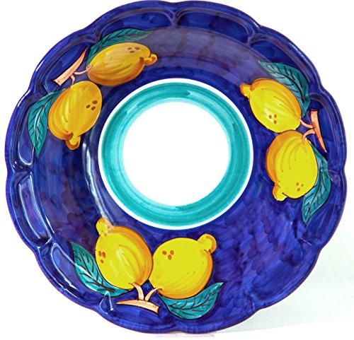 Vietri Ceramic Bowls - Vietri Ceramic handmade Italy, Salad server, Salad bowl