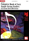 Complete Book of Jazz Single String Studies, Sal Salvador and Mikex Giordano, 0786602074
