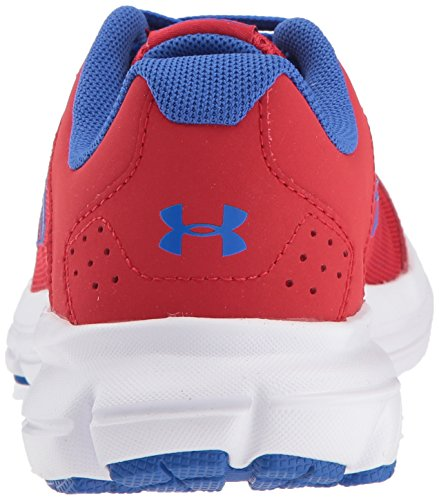 Under Armour Kids' Grade School Rave 2 Sneaker,Red (601)/White,3.5 M US by Under Armour (Image #2)