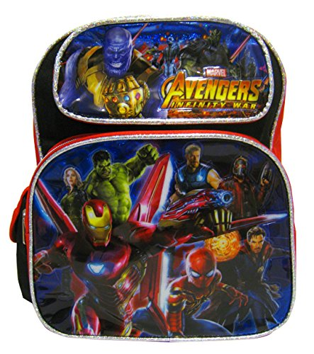 Avengers Infinity War 12 inch Toddler Small Backpack
