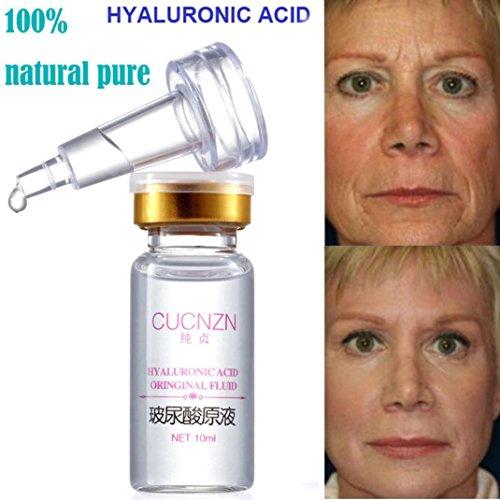 Hunputa 100% Pure Natural Hyaluronic Acid Serum Collagen Anti-Aging Anti-Wrinkle Skin Care