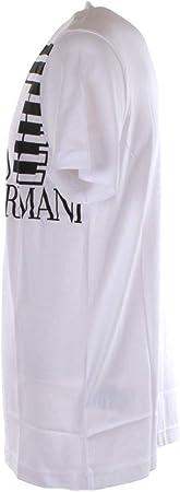Emporio Armani EA7 Hombre Camiseta White