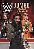 wwe coloring - WWE Jumbo Colouring & Activity Book
