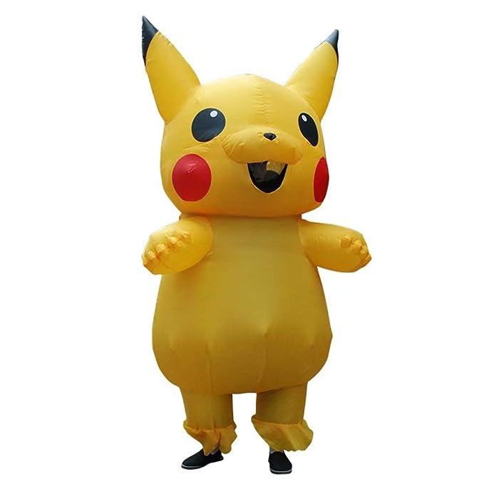 Bombilla blanca/Pikachu/Dinosaurio Disfraz inflable Adulto Niños ...