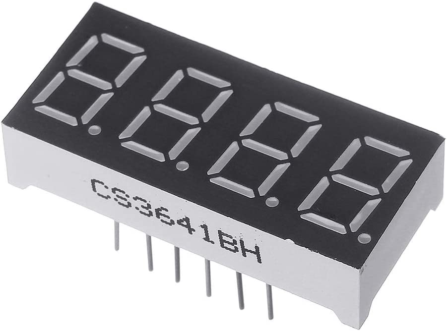 1PC 0.36Inch 7 Segment 4 Digit Common Anode 0,36 Zoll RED LED Digital Display ILS