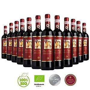 Chianti Classico di Montemaggio - Vino Toscano Biologico Chianti Gallo Nero - DOCG - Fattoria di Montemaggio - Annata… 1 spesavip