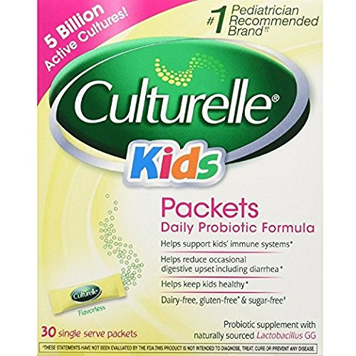 Culturelle Kids Packets Daily Probiotic Supplement 30 Each ( Pack of - Kids Packets Culturelle
