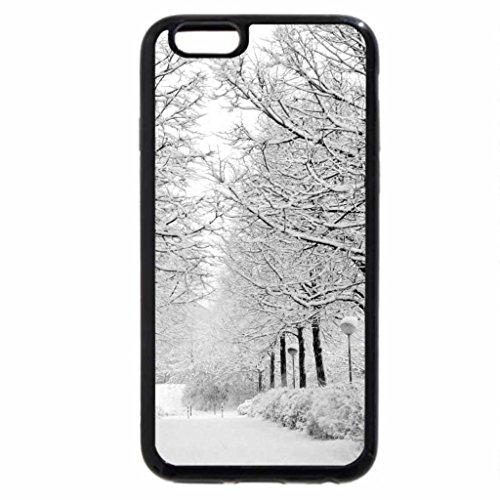 iPhone 6S / iPhone 6 Case (Black) Arvores congeladas