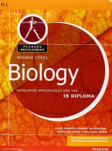 Pearson Baccalaureate: Higher Level Biology for the IB Diploma (Pearson International Baccalaureate Diploma: International Editions) by William Ward (2008-10-08)