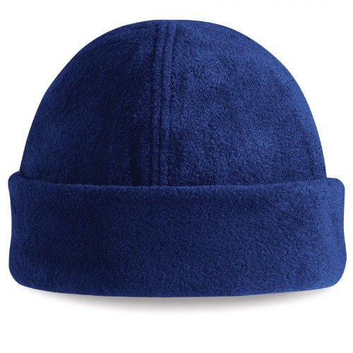 Beechfield Suprafleece Ski Hat Fleece Kappe 2 Stück French Navy