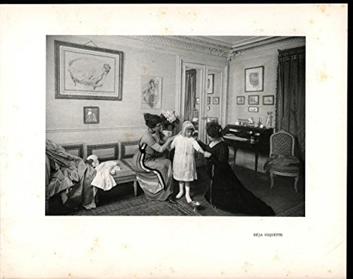 Women Dress Young Girl Outfit 1910 antique French Dress Making Fashion ()