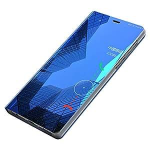 Funda Huawei P8 Lite, [Ventana de Vista Translúcida] Carcasa ...