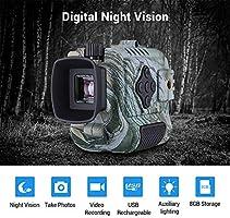 Boblov P4 Night Vision Monocular 5X Digital Zoom Infrared