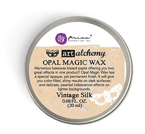 Prima Marketing Art Alchemy-Opal Magic Wax-Vintage Silk