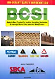 img - for BCSI Building Component Safety Information Guide to Good Practice for Handling, Installing, Restraining & Bracing of Metal Plate Connected Wood Trusses book / textbook / text book