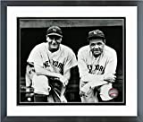 "Lou Gehrig & Babe Ruth New York Yankees Framed MLB Photo (Size: 12.5"" x 15.5"")"