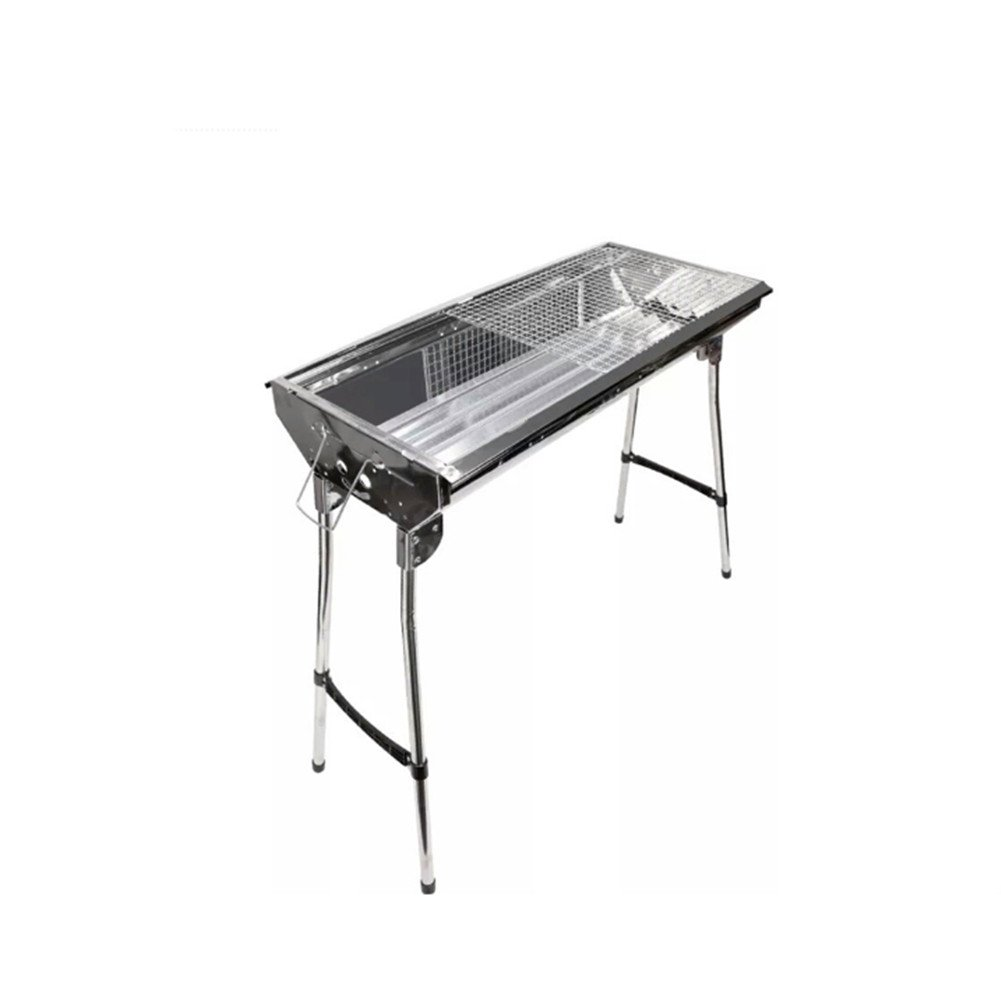 Outdoor Holzkohle Grill Edelstahl Holzkohle Raucher Camping