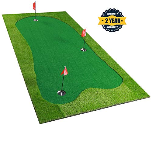 BOBURACN Golf Putting Green/Mat-Golf Training Mat