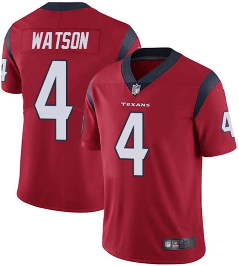 LYLSH Camiseta De Rugby Jersey NFL Football Patriots 4# Watson Camiseta Hombre Ropa Deportiva para Adultos Y Ni/ños